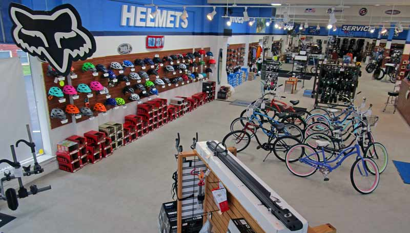 bike helmets, lights and accessories at Indy Cycle Specialist