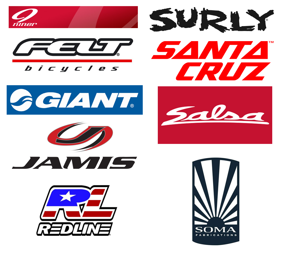 Major bike brands from Indy Cycle Specialist