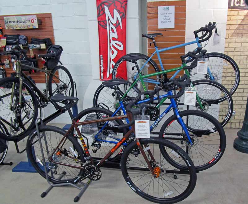 Salsa bikes in Indianapolis at Indy Cycle Specialist